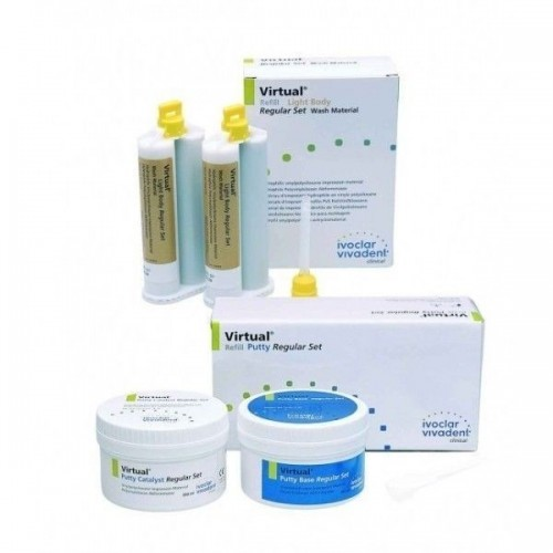 IVOCLAR VIVADENT VIRTUAL PUTTY AND LIGHT BODY SET
